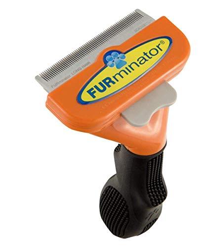 """FURminator deShedding Hundebürste -€"""" Hundefellpflege in Größe M zur einfachen Entfernung von losen Haaren und Unterwolle - für Hunde mit langen Haaren"""