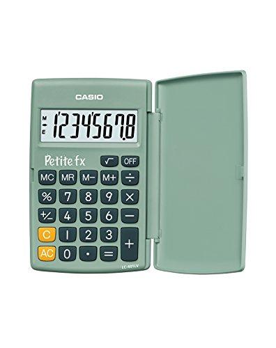 Casio Kleine FX groene rekenmachine scolaire groen