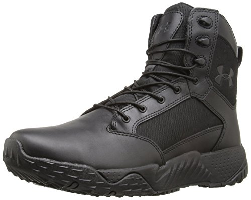 Under Armour Men's Stellar Military and Tactical Boot, Black (001)/Black, 10.5