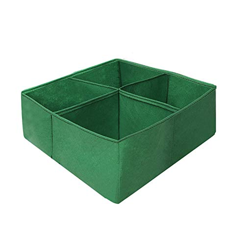 PinnacleT1 Plant Grow Bag, Grow Bags Heavy Duty Container Thickened Nonwoven Fabric Plant Pots with Handles, Aeration Fabric Pots with Handles, Fabric Bag for Graden Fruit No Assembly Required by