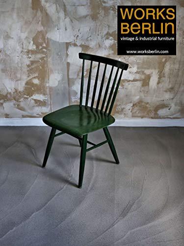 Designer Holzstuhl, restauriert, 70er Jahre