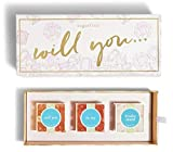 Sugarfina Will You Be My Bridesmaid 3pc Candy Bento Box! 3 Flavors Champagne Bears, Pink Diamonds and Champagne Bubbles! Bridesmaid Proposal Candy Box Gift Set! Sweet And Unique Bridesmaid Gifts!