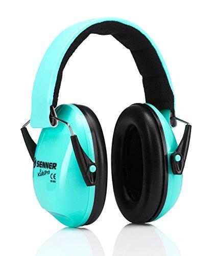 Senner KidsPro Kind Gehörschutz für Baby und Kinder. Babys ab 12 Monaten, Kinder bis 16 Jahre, mitwachsend (mint)