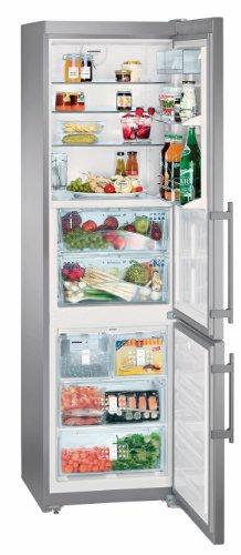 Liebherr cbnpes 3976Premium autonome 325L A + + Edelstahl–réfrigérateurs-congélateurs (autonome, Edelstahl, rechts, LCD, MJPEG, Edelstahl)