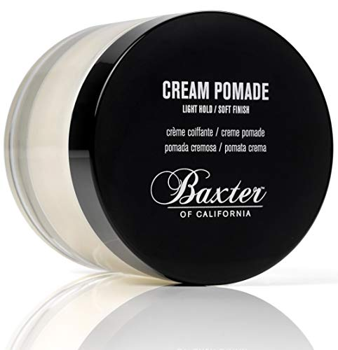 Baxter of California Cream Pomade for Men | Natural Finish | Light Hold | Hair Pomade | 2 fl....
