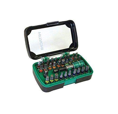 Hitachi 750363 Bitsätze, Cranberry, 32 Stück