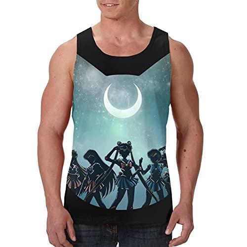 Sailor Moon - Camiseta sin mangas para hombre