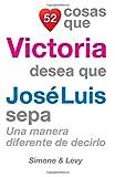 52 Cosas Que Victoria Desea Que José Luis Sepa: Una Manera Diferente de Decirlo