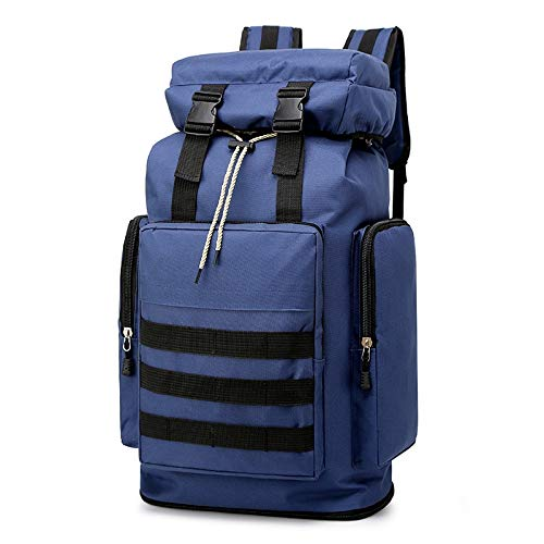 ZHENXIN Sacs à Dos de randonnée Big Big Travel Bags Sac à Dos Blue Oxford Casual Mountaineering Outdoor Sports Bags