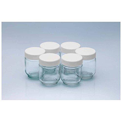 Clatronic JM 3344 - Pack de 6 vasos para yogurtera