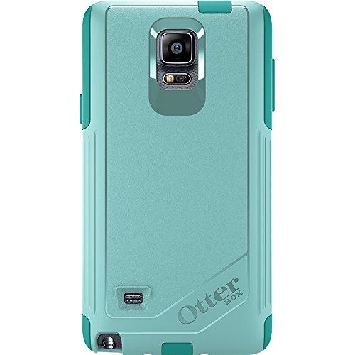 OtterBox Samsung Galaxy Note 4 Case Commuter Series - Retail Packaging - Aqua Sky (Aqua Blue/Light Teal)