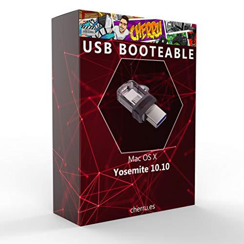 Cherru - Mac OS X Yosemite 10.10 - Unidad Flash USB booteable para Instalar OS X