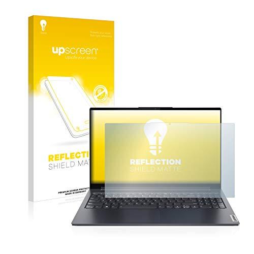 upscreen Entspiegelungs-Schutzfolie kompatibel mit Lenovo Yoga 7 14ITL5 – Anti-Reflex Bildschirmschutz-Folie Matt