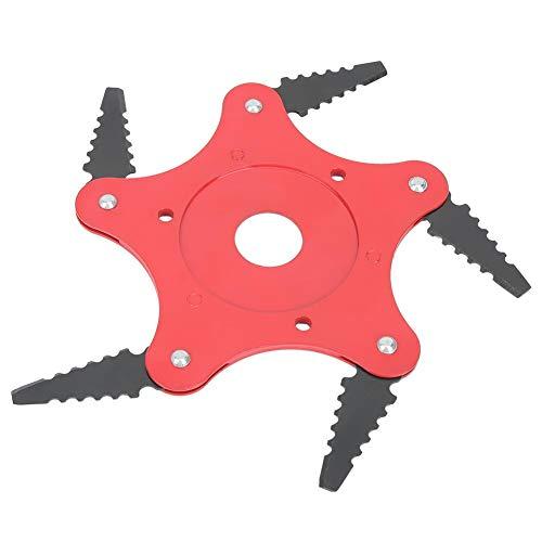 Zwindy Universal 5-Zahn-Trimmer-Klinge Professioneller Rasierschneider-Kopf aus Manganstahl, 360 ° Klingen-Design, Unkraut in alle Richtungen entfernen.