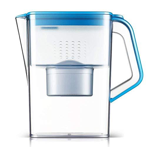 WEHOLY Filtro de Agua Home Kitchen 3.2L XL, Jarra de Filtro de Agua para el hogar Libre de BPA, reducción de Cal y Cloro, Plomo, alcalinos, Metales Pesados,...