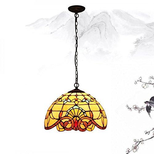 Lustre de chambre café Création vintage lampe chaude-A
