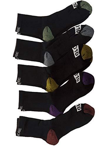 Globe gb71629009Herren Socken, 5er Pack, Mehrfarbig (Assorted), Herstellergröße: 7-11