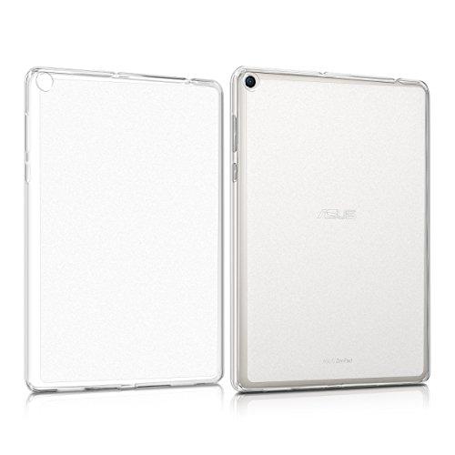 kwmobile Hülle kompatibel mit Asus ZenPad 3S 10 (Z500M) - Silikon Tablet Cover Hülle Schutzhülle Matt Transparent