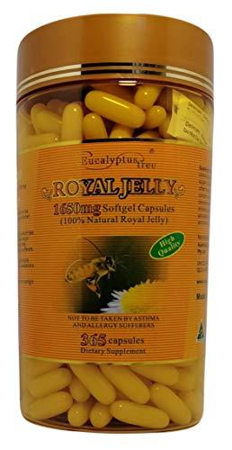 Eucalyptus Royal Jelly 1650mg 365 Capsules Made in Australia