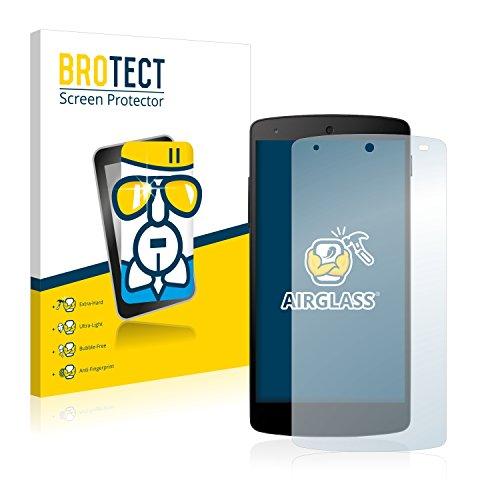 BROTECT Panzerglas Schutzfolie kompatibel mit LG Electronics Nexus 5-9H Extrem Kratzfest, Anti-Fingerprint, Ultra-Transparent