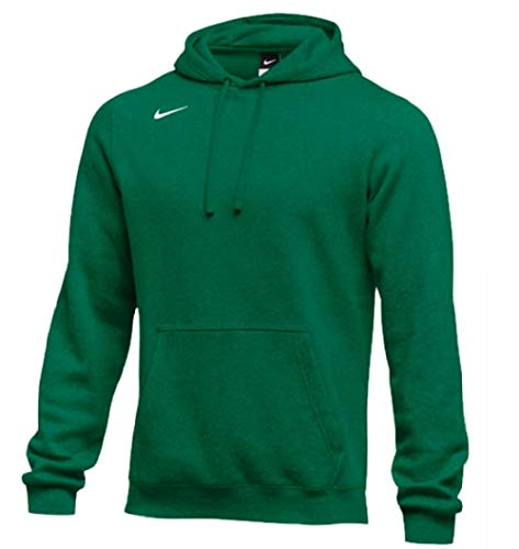 Nike Men's Pullover Fleece Club Hoodie (XX-Large, Dark Green)