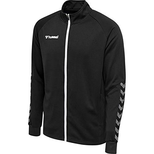 hummel Herren hmlAUTHENTIC Poly Zip Jacket Jacke, Black/White, L