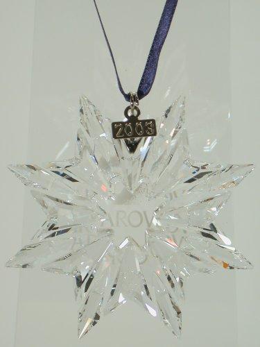 Swarovski Stella Di Natale Pendente Albero Di Natale 622498 AP 2003 Nuovo Con Scatola E Certificato Originale