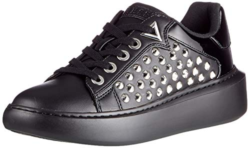 Guess BRANDYN2/ACTIVE Lady/Leather L, Oxford Plano Mujer, Negro, 40 EU