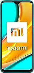 """Xiaomi Redmi 9 - Smartphone con Pantalla FHD+ de 6.53"""" DotDisplay, 4 GB y 64 GB, Cámara cuádruple de 13 MP con IA, MediaTek Helio G80, Batería de 5020 mAh, 18 W de Carga rápida, Verde"""