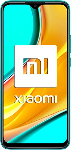 Redmi 9 Samartphone - 4GB 64GB AI QUAD KAMERA 6.53' Full HD + display 5020mAh (typ) verde [Versione globale]