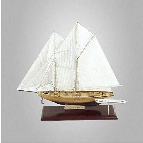 Heinside Regalo decoraciones Velero Modelo 1:81 Vela Modelo Diy Velero Madera Barco Modelo de Construcción Kits Para Niños Astonishing