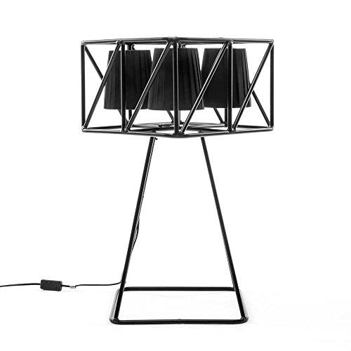 SELETTI 'Lampe de Table en métal avec 4 Lampes Multilamp cm.35 x 35 H.66