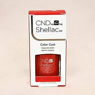 Shellac Gel Polish Fine Vermilion 0.5oz