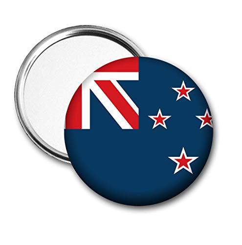 Nieuw-Zeeland Vlag Pocket Spiegel voor Handtas - Handtas - Cadeau - Verjaardag - Kerstmis - Stocking Filler - Secret Santa