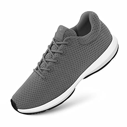 GIESSWEIN Wood Sneaker Women - Atmungsaktive Damen Freizeit Sneaker, Lyocell Turnschuhe, Frauen Schuhe aus Eukalyptus Faser, Leichte Sportschuhe