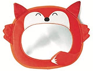 Diono Easy View Fox Character, Baby Car Mirror, Safety Car Seat Mirror for Rear-Facing Infant, Fully Adjustable, Wide Crys...