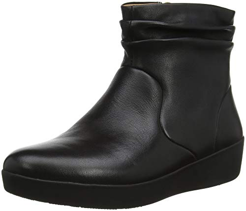 FitFlop Skatebootie-Leather, Botines para Mujer