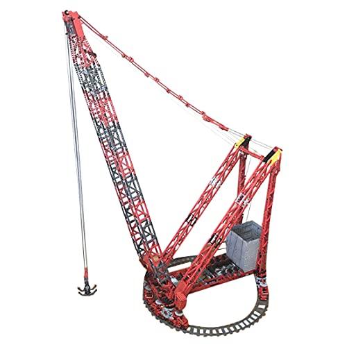 LAKA Technic RC Ring Crane Modular 4155Pcs MOC-78281 Dynamic Fixed Ring Crane Modelo para Mammoet PTC-200-DS SSL con 6 motores Compatible con Lego Technic