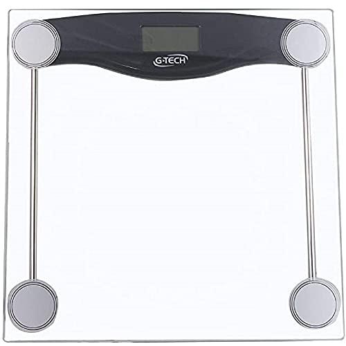 G-Tech Balgl10 Balança Digital em Vidro Temperado, Transparente