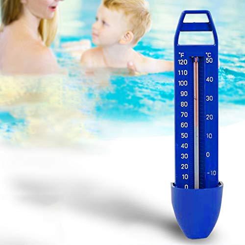 FiedFikt Thermometer Premium Thermometer Zwembad Spa Onderdelen Accessoires Zwembad Zwembad Drijvende Thermometer Water Thermometer 17 cm