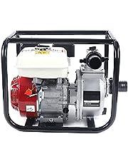 2-inch benzine-waterpomp 2-takt benzine-tuinwaterpomp 3,6 l motorpomp 6,5 pk 210 CC hogedruk-transferwaterpomp benzine-waterpomp met 135 m hub (2 inch)