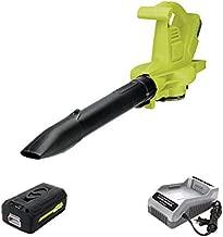 Sun Joe IONBV-XR 40V Variable-Speed Cordless Blower/Vacuum/Mulcher, Kit (w/5.0-Ah Battery + Quick Charger)