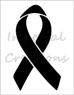 RIBBON Raise Awareness Breast Cancer 8.5