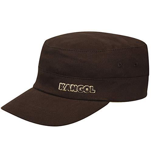 Kangol Cotton Twill Army Cap Casquette de Baseball, Marron, (Taille Fabricant X-Large) Mixte