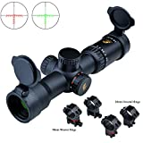 Eagle Eye Rifle Scope 1.5-5X32 (30mm) R/G Scopes for Rifles Thin Scope Shell(TSS)