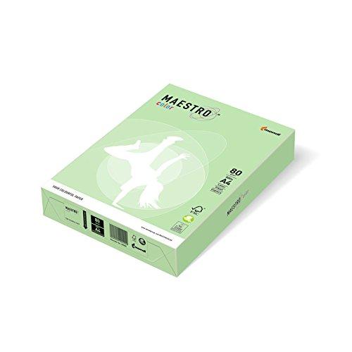 Multifunktions-Papier, A4, 80g/qm, beidseitig bedruckbar, mittelgrün