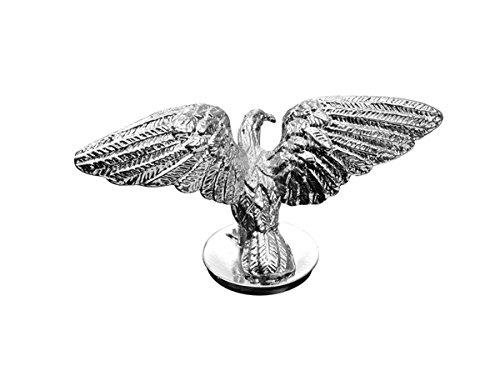 winged hood ornament - 1