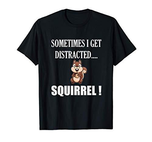 CAMISETA DE ARDILLA DIVERTIDA DIVERTIDA Animal Zoo Farm Meme Camiseta