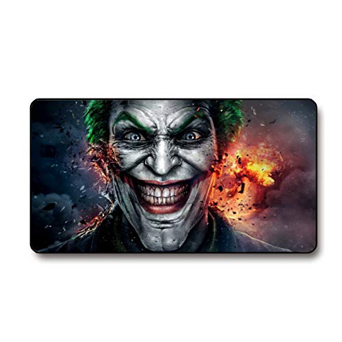 Joker Large Gaming Mouse Pad, Extended Gaming Mousepad, Non-Slip Rubber Mouse Mat for Office/Computer/Lapto 29.3' X 15.7' in