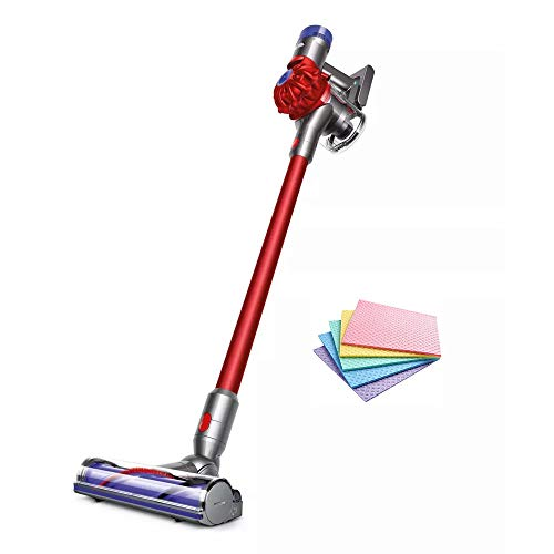 Dyson V8 Motorhead Origin Cordless Stick Vacuum Cleaner Lightweight Versatility Designed, Strong Suction for Versatile Cleaning, Washable Filter, Advanced Whole-machine Filtration + iCarp Sponge Cloth